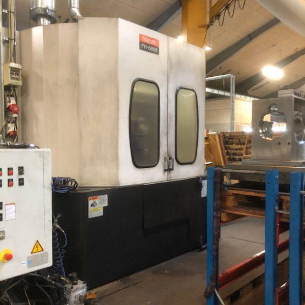 MAZAK FH 6800 horisontal maskineringscenter 1
