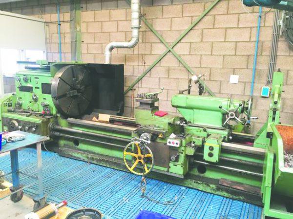 STANKO - drejebænk 165 x 2500 mm 2 8
