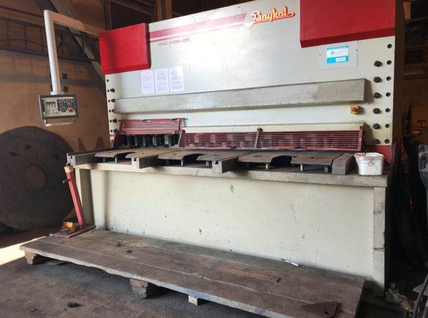 BAYKAL HNC 3100x25 Hydraulic Plate Shears 20 202 BAYKAL 1