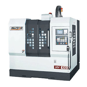 Millstar MV-660 CNC Bearbejdningscenter