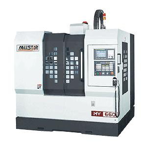 Millstar MV-660 CNC Bearbejdningscenter