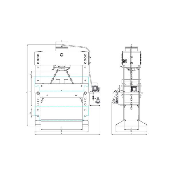SHV - 160 Ton MH-MC-2 D=1500 SHV 160 Ton MH MC D1500 9 SHVDK