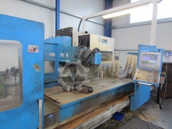 CME F6 Bed Mill year 2002 3320519 1