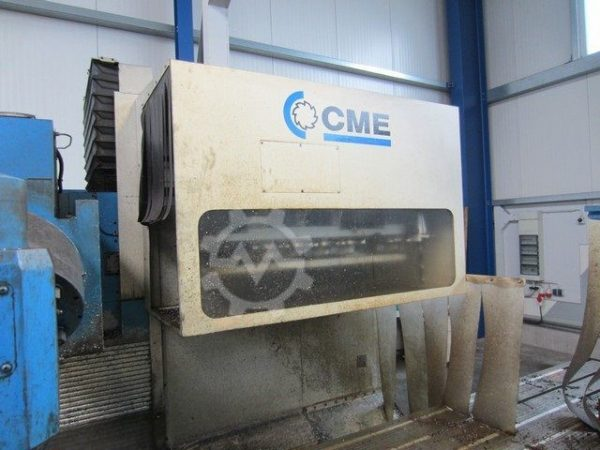 CME F6 Bed Mill year 2002 3320519 4
