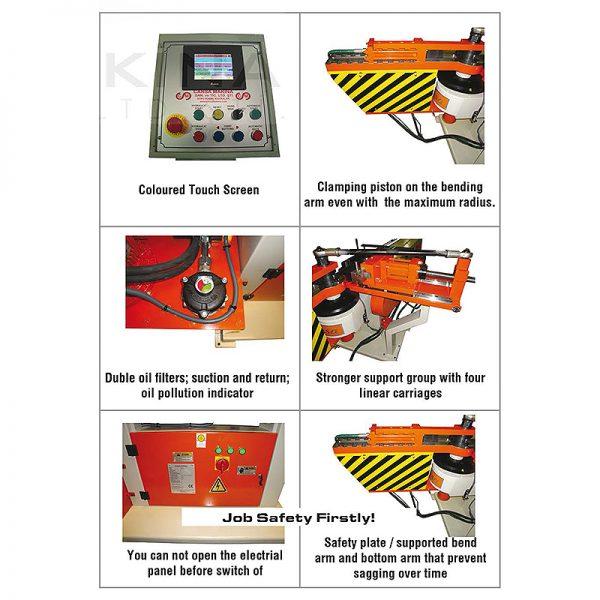CMH 51 (NC) fuld-hydraulisk CMH 51 gearbox system 2