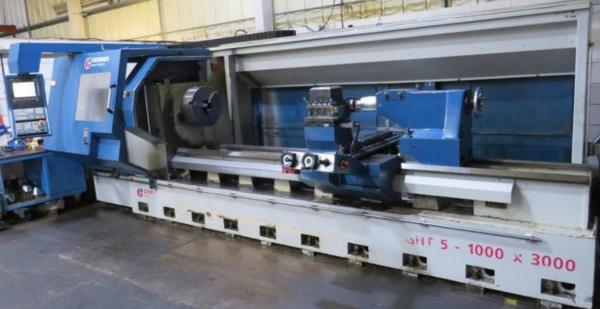 CNC Drejebænk GEMINIS GHT5 G2 1000 x 3000 GEM 1