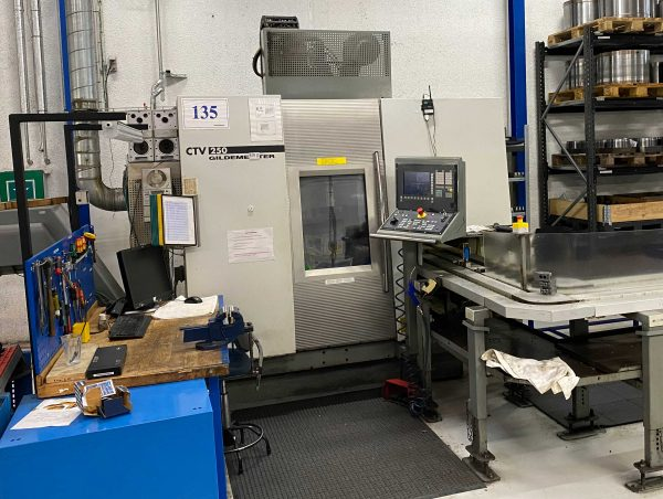 Gildemeister CTV 250 CNC Drejebænk SHV 1 13 1 scaled