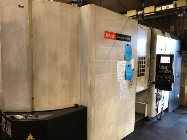 MAZATECH FH-6800 CNC Machining Center SHV 1 3 3