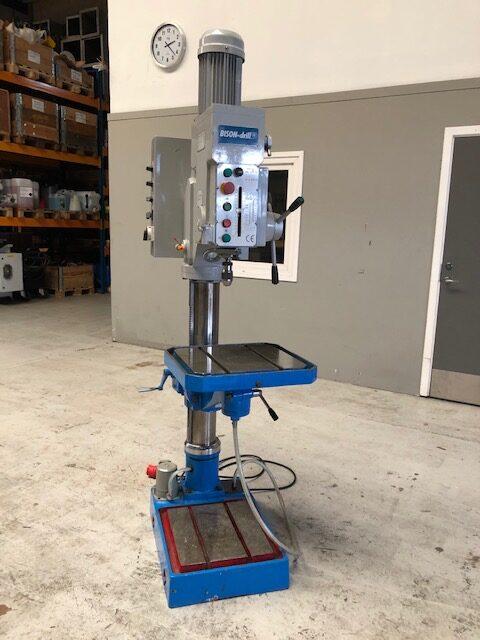 BISON Column Drilling Machine SHV 1 5 rotated 2