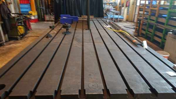 Welding Table with T-slots SHV 1 6