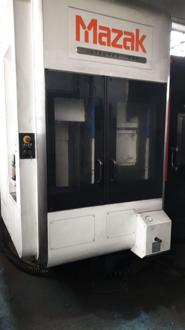 MAZAK Integrex I-200 CNC Machining Center year 2015 SHV 1 8 1