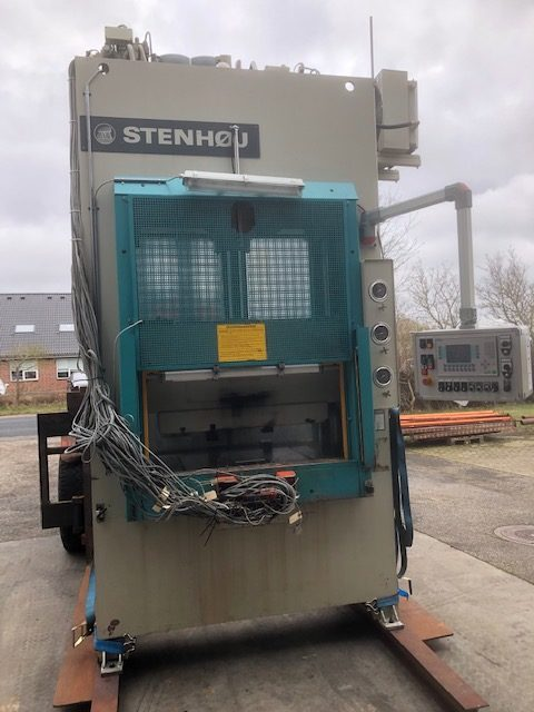 STENHØJ LP 100/40/10 T Hydraulic Press SHV 1 rotated 1