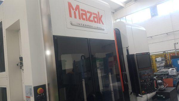 MAZAK Integrex I-200 CNC Bearbejdningscenter årg. 2015 SHV 11 1