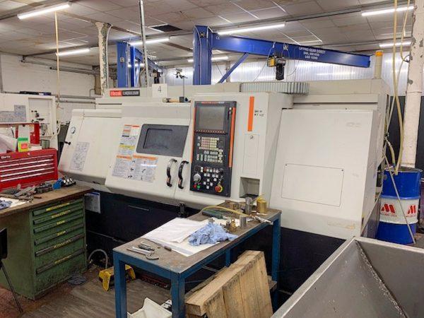 Mazak QTN250M CNC Lathe year 2006 SHV 14 1 2