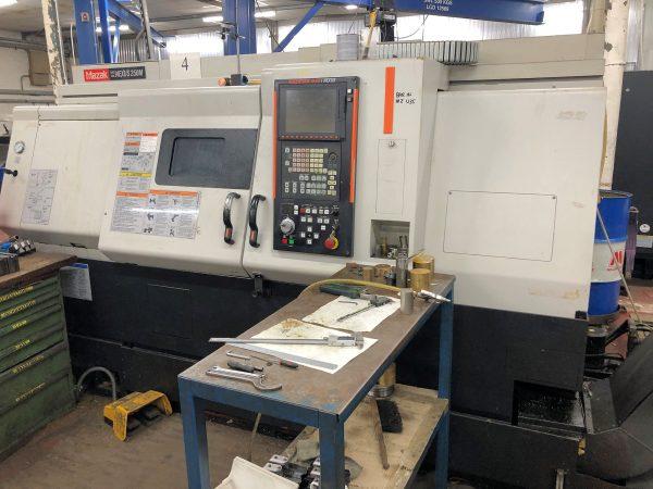 Mazak QTN250M CNC Lathe year 2006 SHV 2 1 4