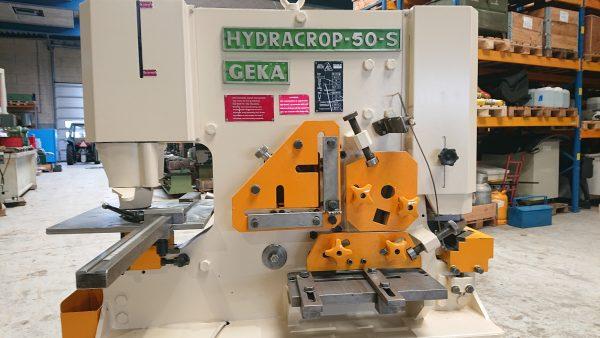 Brugt GEKA HYDRA CROP 50-S UNIVERSAL Profiljernsaks med 2 cylindre SHV 2 16 scaled