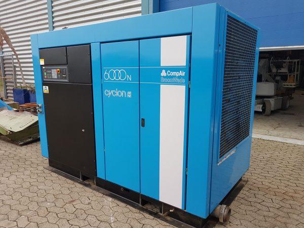 Brugt COMPAIR kompressor mod. 6000 Cyclon SHV 2 3 scaled 1