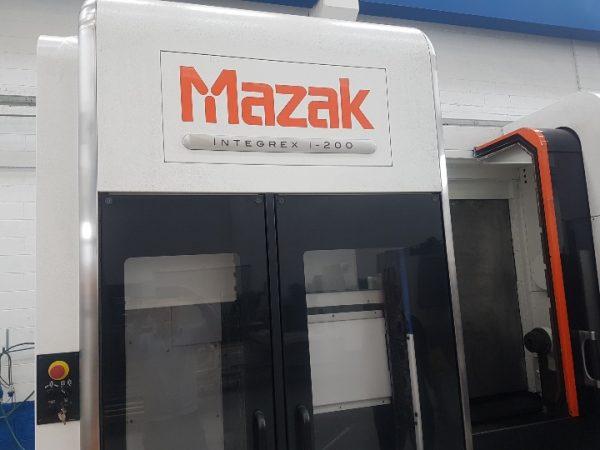 MAZAK Integrex I-200 CNC Machining Center year 2015 SHV 2 8 1