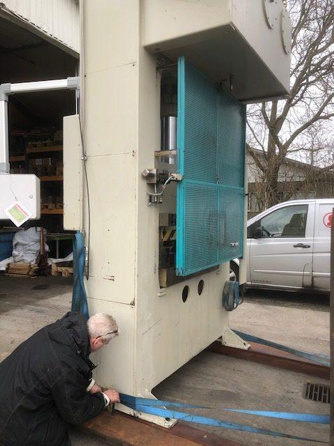 STENHØJ LP 100/40/10 T Hydraulic Press SHV 2 rotated 1