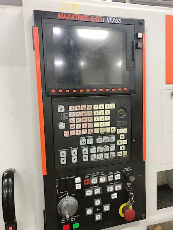 Mazak QTN250M CNC Lathe year 2006 SHV 3 1 5