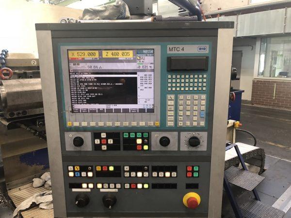 Heyligenstaedt NDC-710 II 5x1.500 CNC Lathe year 1975 SHV 3 2 2