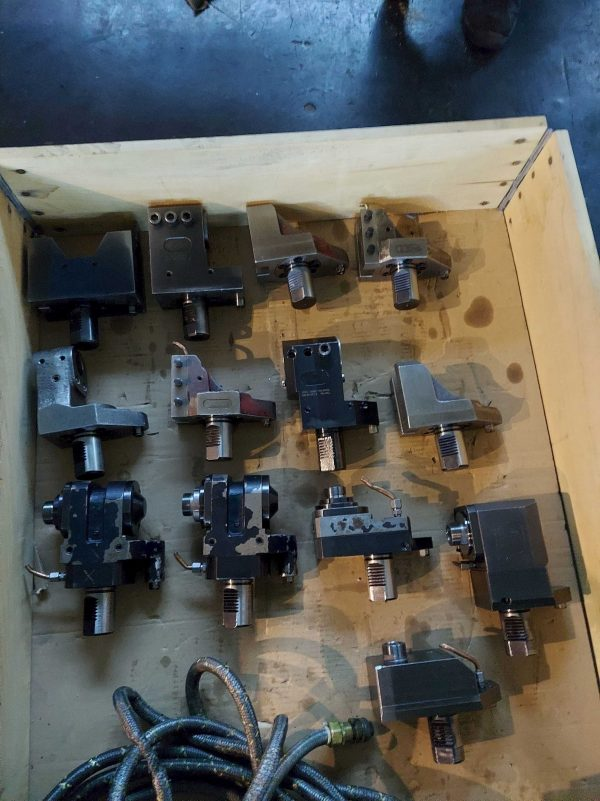 MAZAK SQT-200 MSY CNC Drejebænk årg. 2003 SHV 3 2 3 scaled