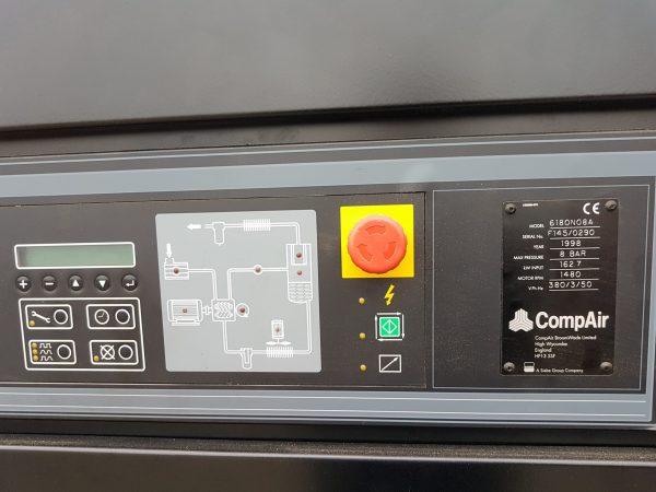 Brugt COMPAIR kompressor mod. 6000 Cyclon SHV 3 3 scaled 1
