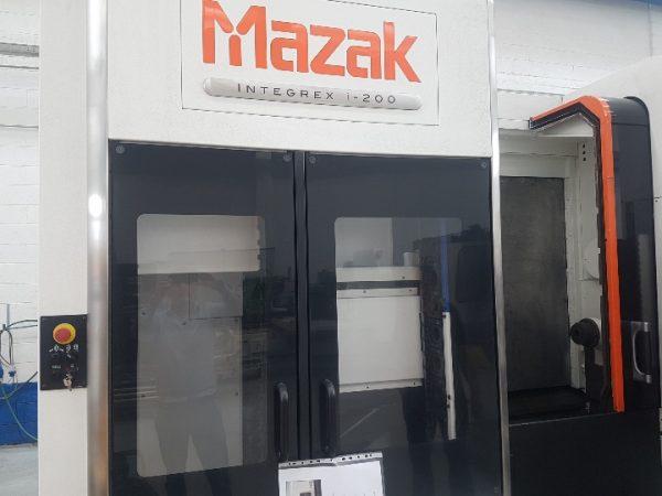MAZAK Integrex I-200 CNC Bearbejdningscenter årg. 2015 SHV 3 8 1