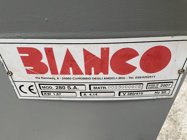 Brugt BIANCO 280 SA halv Automatisk båndsav SHV 4 16 scaled