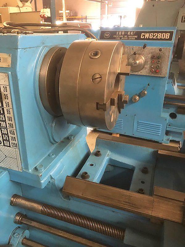 GEMINIS 650x2000 Lathe SHV 4 5