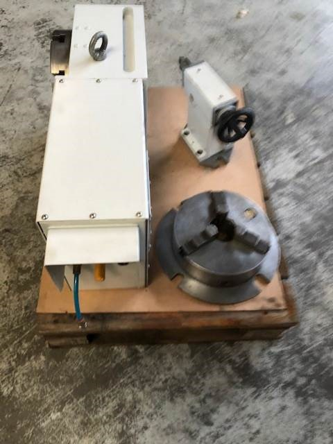 GOLDEN SUN CNC Rotary Table SHV 4 8