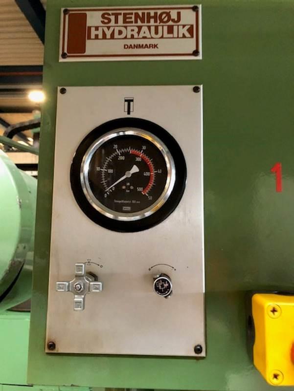 Stenhøj Hydraulisk presse 25 tons SHV 5 2 1