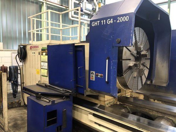 GEMINIS GHT11 G4 CNC Lathe year 2009 SHV 5 2 2