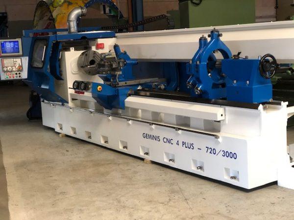GEMINIS CNC Drejebænk SHV 5.1