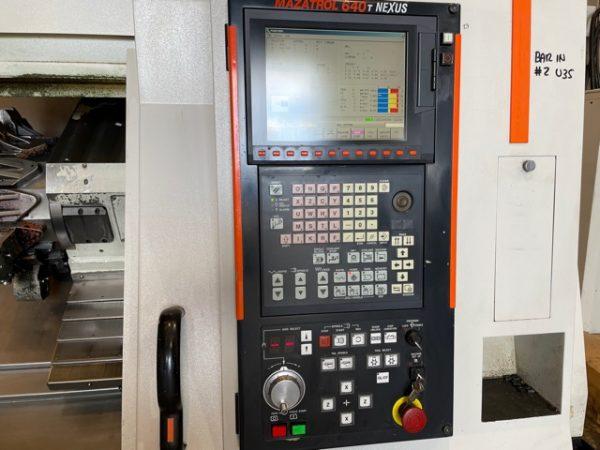 Mazak QTN250M CNC Lathe year 2006 SHV 6 1 4