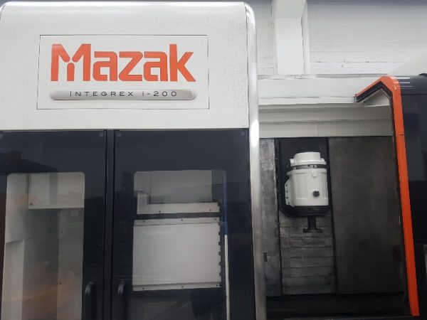 MAZAK Integrex I-200 CNC Bearbejdningscenter årg. 2015 SHV 7 3 1