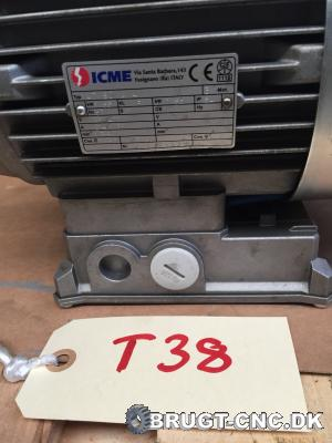 ICME AT80 Electric Brake Motor (NEW) med f5bea32d22087164dc58619cc19562e1