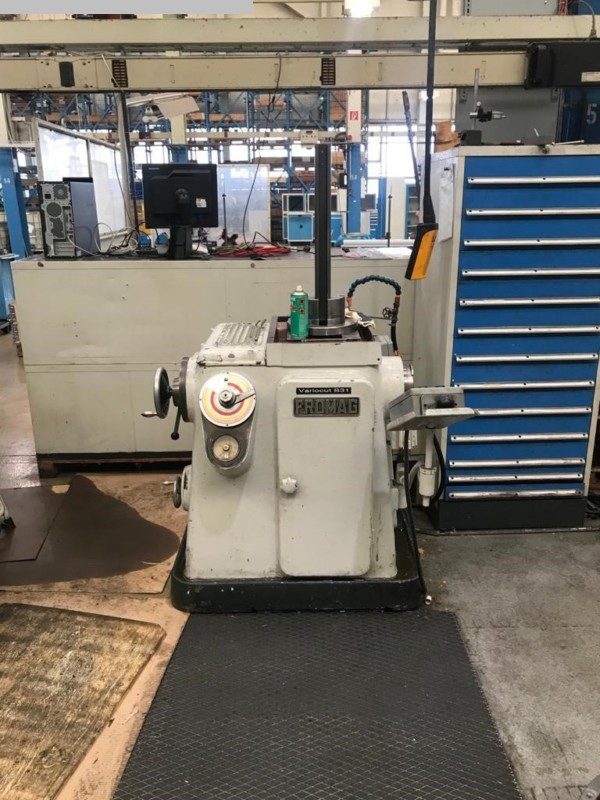 Fromag KZH-90-700 Hydraulic Keyseating Machine shv 1 20